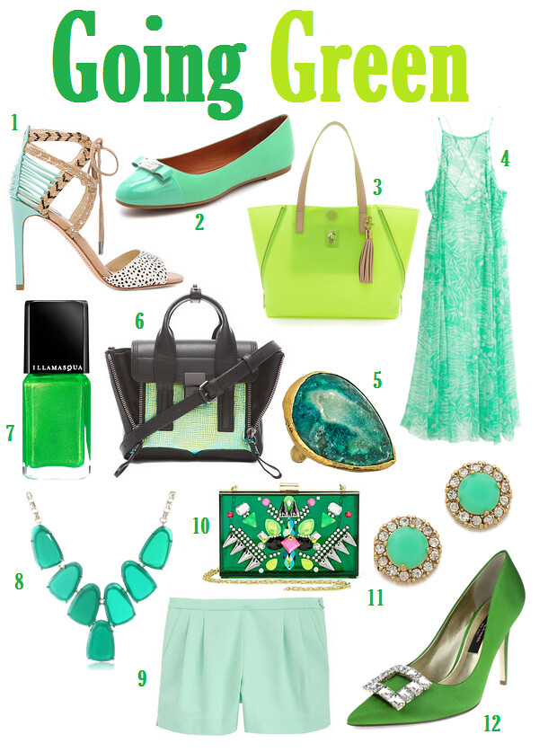 Currently Obsessed with Green on Living After Midnite