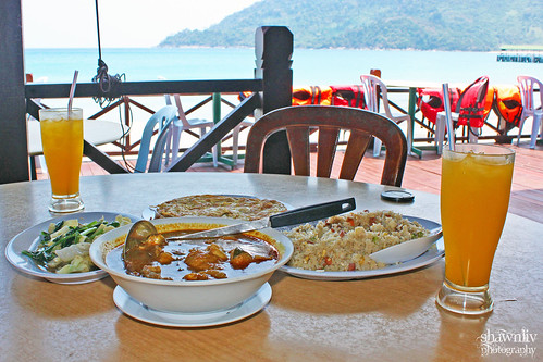 Lunch at Juara Beach Resort Tioman