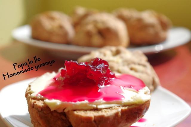 Scones cu mere si scortisoara (1)