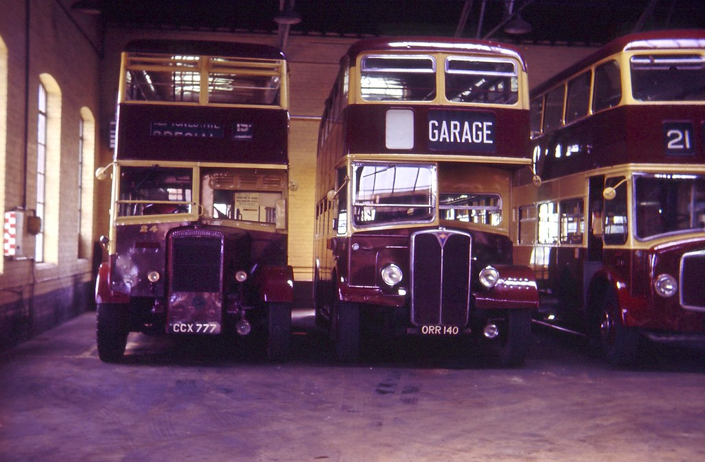 West Bridgford Urban District Council 24 Daimler Duple And 21 Aec Regent Willowbrook 1964
