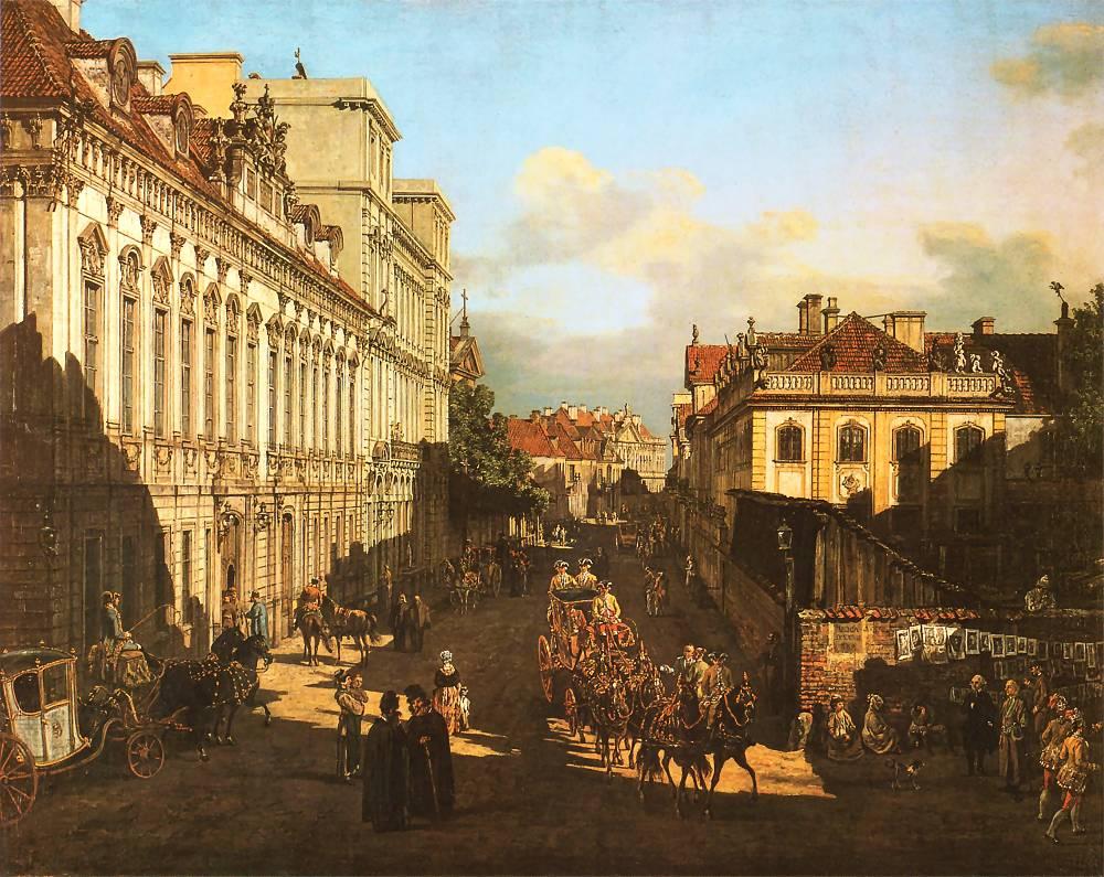 十八世纪华沙风景画8