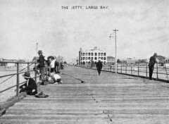 The Jetty and Largs Pier Hotel, Largs Bay