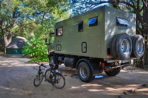 Africa overland: bike vs. truck