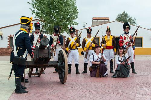 Recreación histórica de la Batalla de la Albuera el 16 de mayo