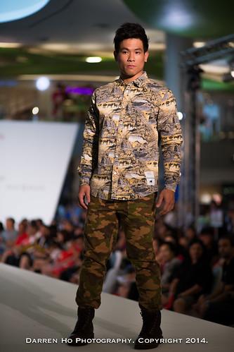 Vivocity Fashion Parade 2014 : Team Singapore Athletes