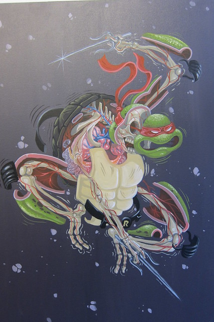 Street Anatomy bt Nychos at Gallery Fifty24 SF
