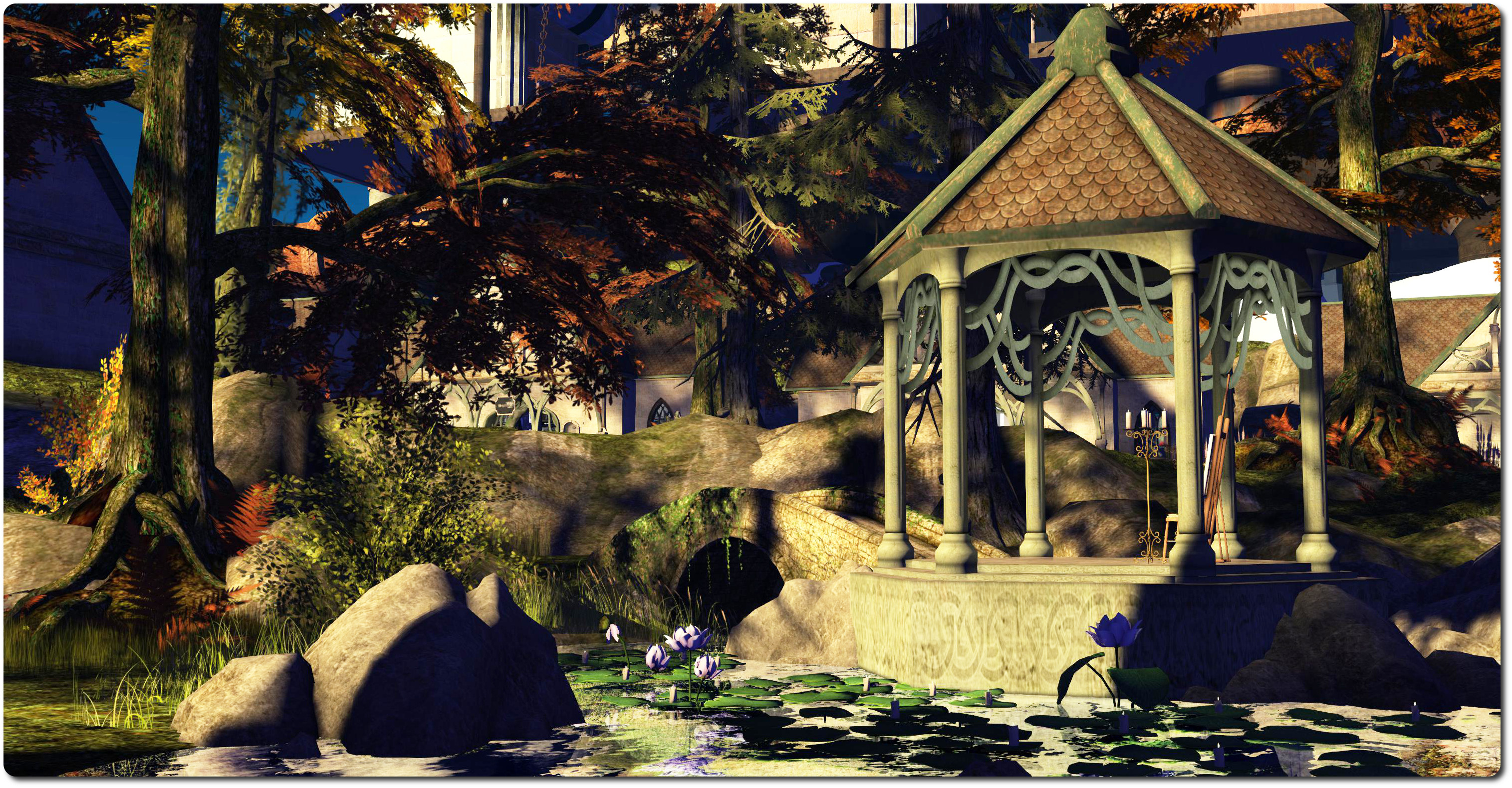 Fantasy Faire May 2014: Medhir Woods, Inara Pey
