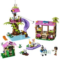LEGO Friends Jungle Rescue Base - the build #41038