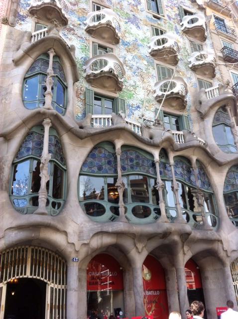 Escale à Barcelone