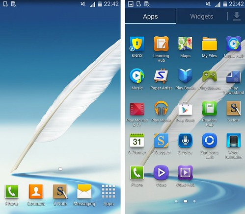 Android 4.4 для Galaxy Note 2