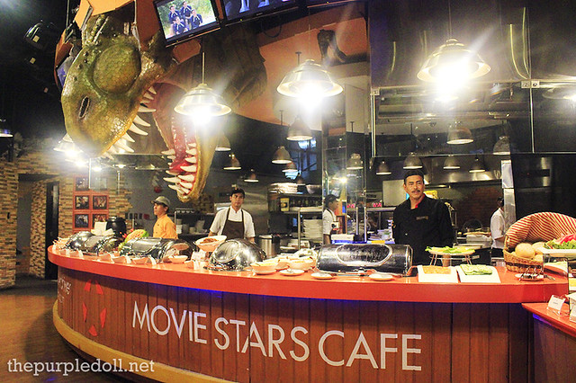 Movie Stars Cafe Dino Buffet
