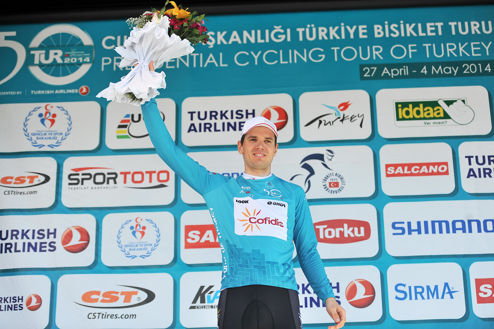 TUR Stage 5 Taaramae leader