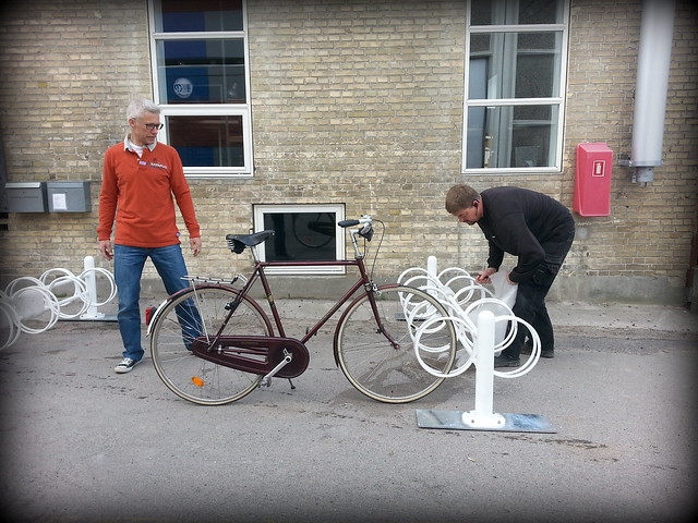 New Bike Racks at Copenhagenize Design Co.