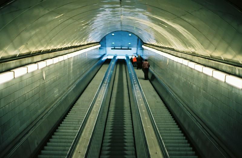 Peachtree Center escalators