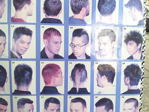 hairstyles & attitudes
