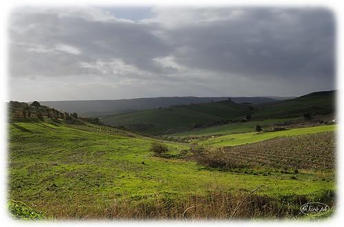 green clouds landscape sicily nikond7000