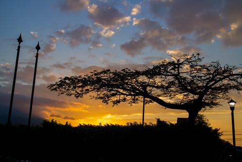 sunset atardecer costarica sanjosé