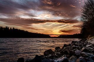 Bridged Sunset
