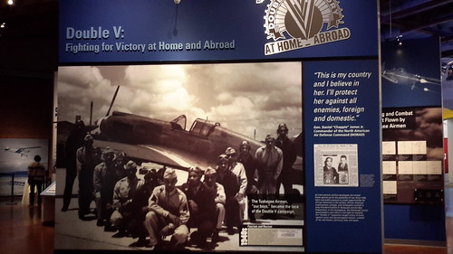 Inside the Tuskegee Airmen Museum