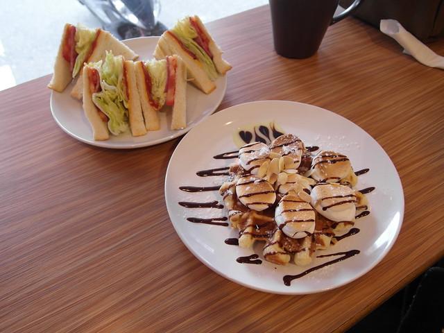 有鹹有甜,吃巧吃飽都有選擇@內湖港墘 Waffle Please比利時列日鬆餅