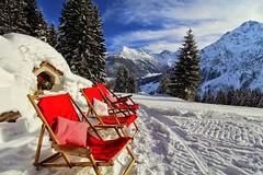 Relaxen bei der Maxhütte in Mittelberg