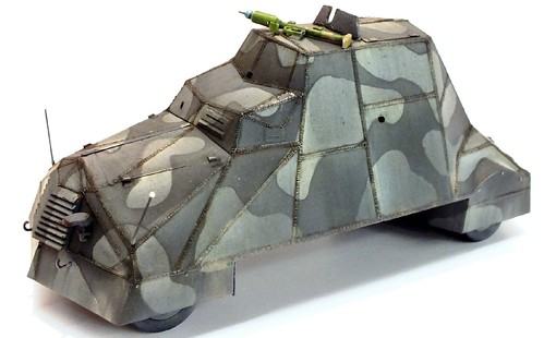 Mirage Kubus autoblindo polacca 1944