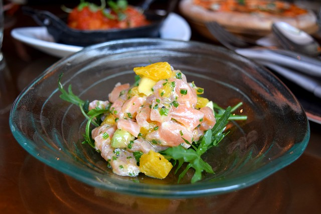 Salmon Tartare at Cucina Asellina, Covent Garden