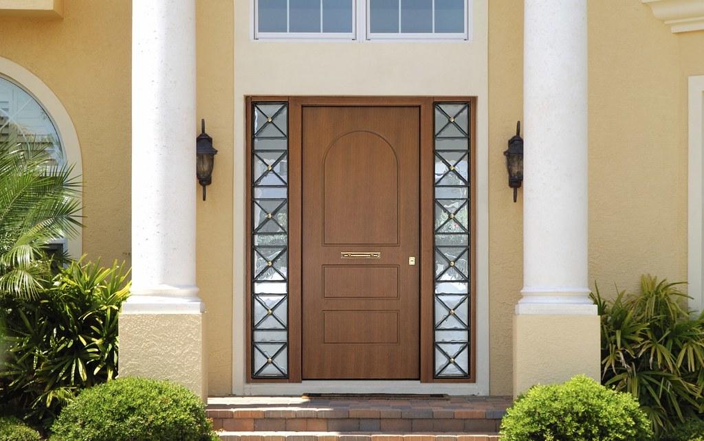 Exterior Wooden Security Door-Protective Frame-Bulletproof… | Flickr