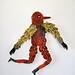 Orange Bird Man by benconservato