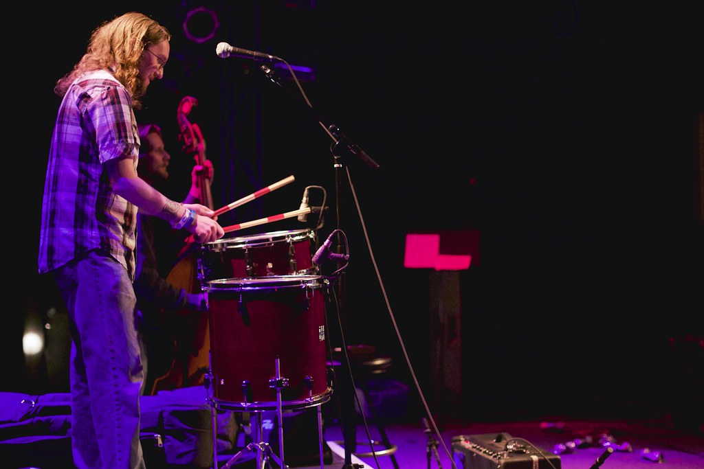 The Bottle Tops's Mike and Kerry Semrad at The Bourbon Theater - Take Cover | Jan. 30, 2015