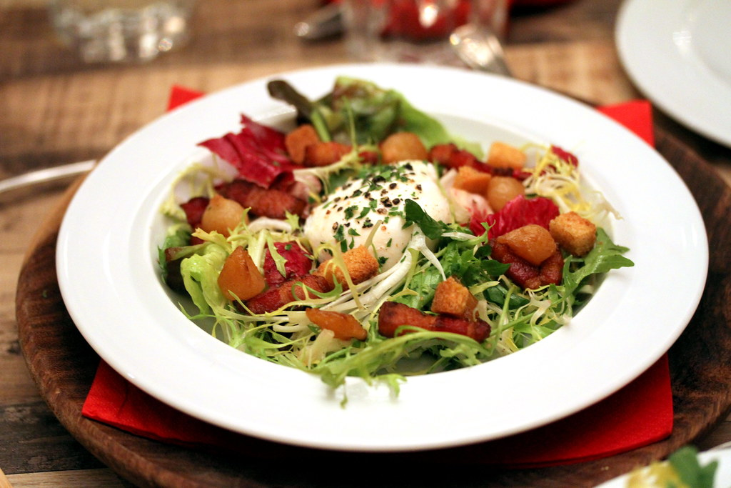 Shelter in the Woods' Lyonnaise Salad