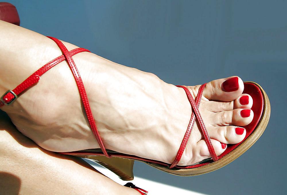 Interesting question Sexy mature feet not
