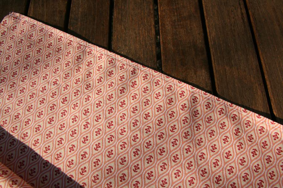 Tuto couture - bouillotte dorsale graines de lin - Etape 17