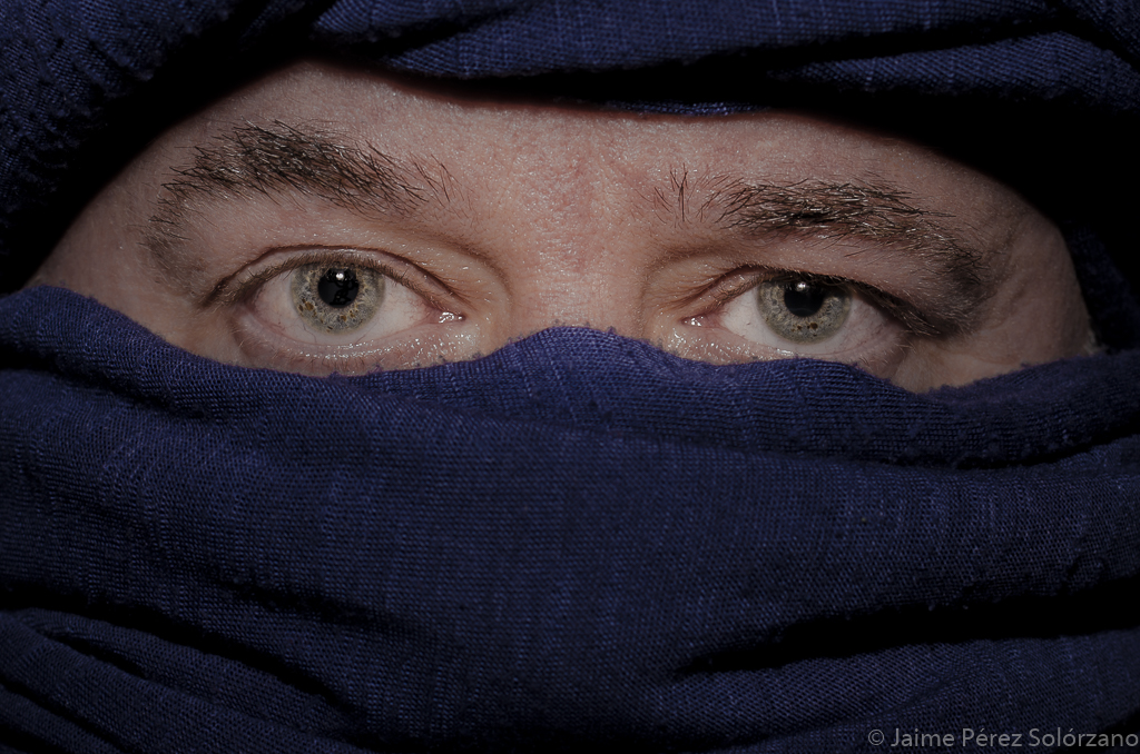 3.- Retrato - Febrero - Tuareg
