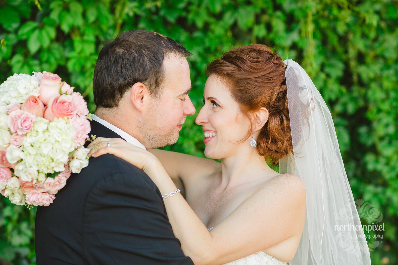 Kendra & Jarrett on their Wedding Day - in Prince George BC