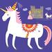Bitsy the Unicorn by Patty Rybolt Designs
