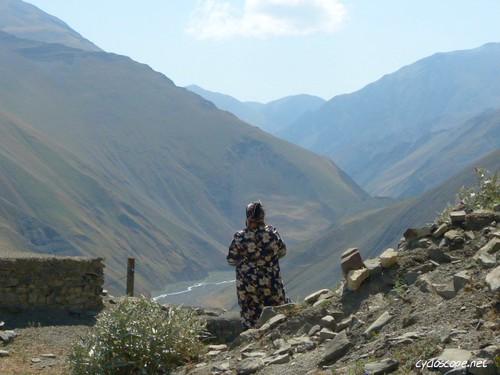 people azerbaijan caucasus scape kinaliq