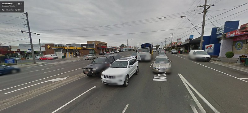 Mountain Highway, Bayswater (Pic: Google Maps)