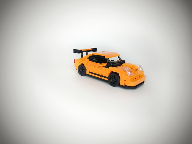 NOT-42056 Porsche 911 GT3 RS    I'm really sure a picked-up the right box, but why the actual car is smaller than i thought? Not what i expected... It's suppose to be a technic set, right?