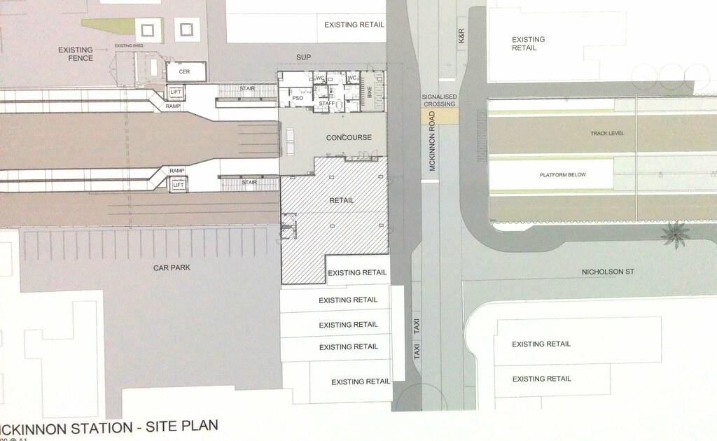Mckinnon Station plan