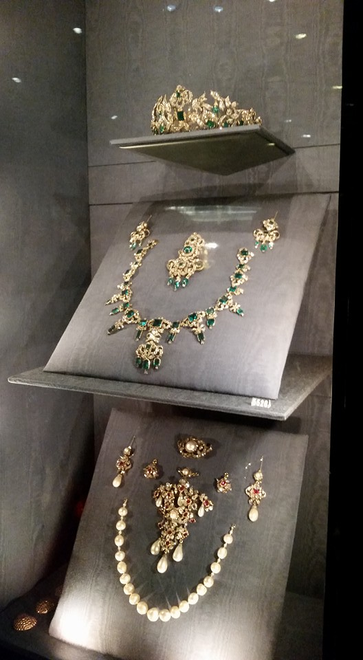 My jewels in Rosenborg Slot, Copenhagen