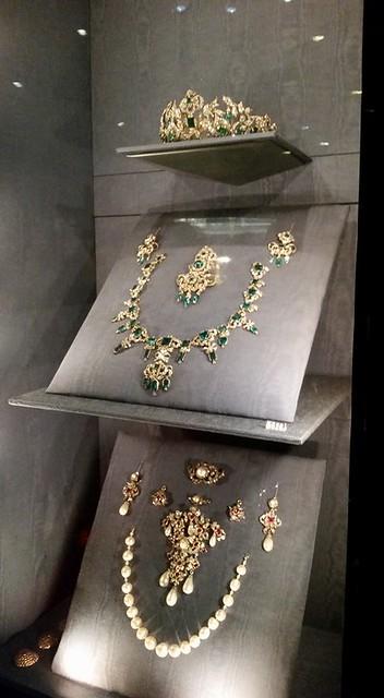 My jewels in Rosenborg Slot, Copenhagen