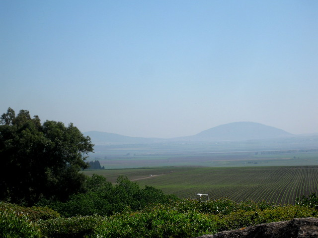 Mount Tabor in the distance