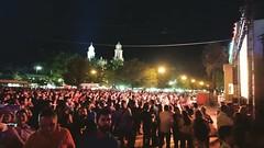 Las multitudes celebrando en el @festivaldelpitic @FestivalPitic...