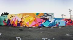 Mar Vista wall art #marvista #losangeles #california #art #mural #postoffice #parkinglot
