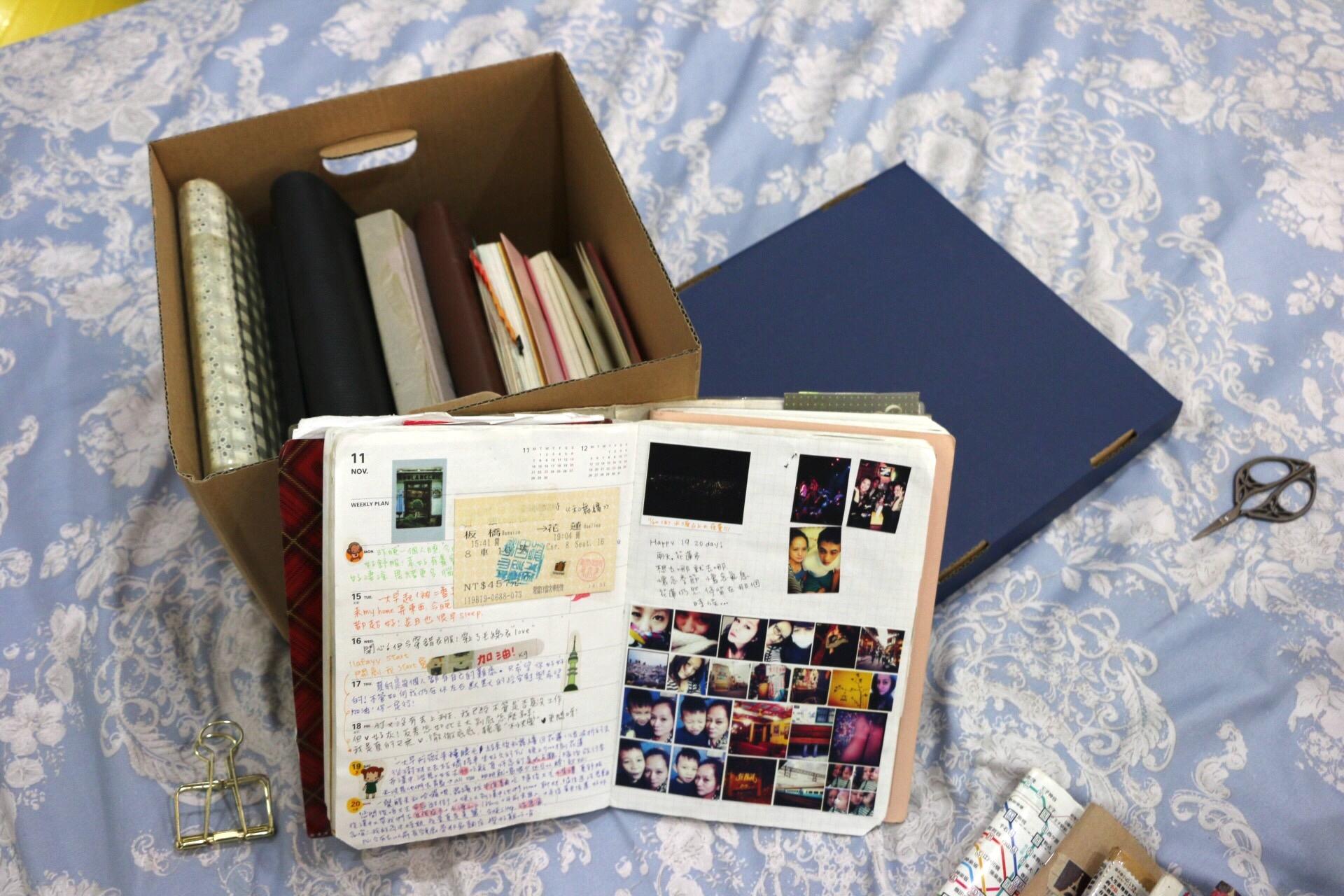我的日記周邊
