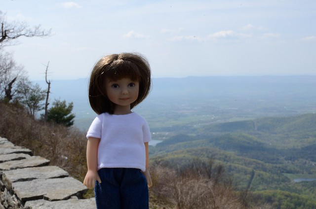 Melissa on Skyline Drive