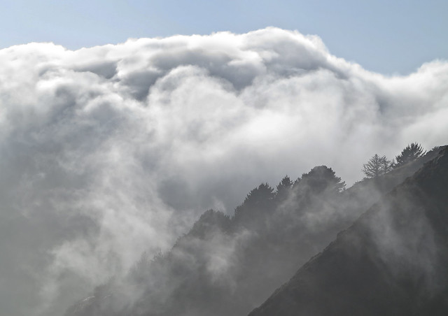 Marin headlands fog and clouds