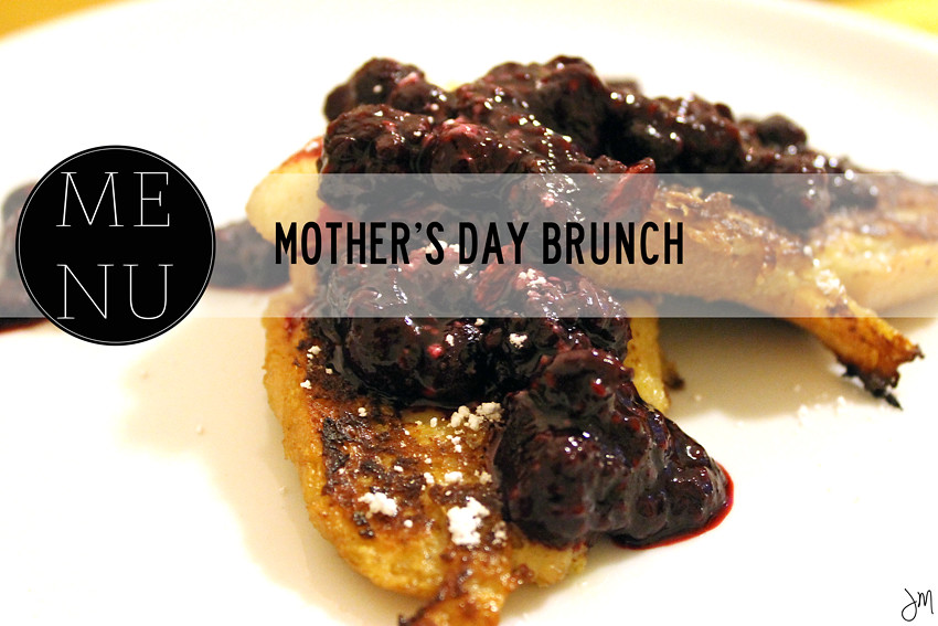 Julip Made Mothers Day Brunch Menu