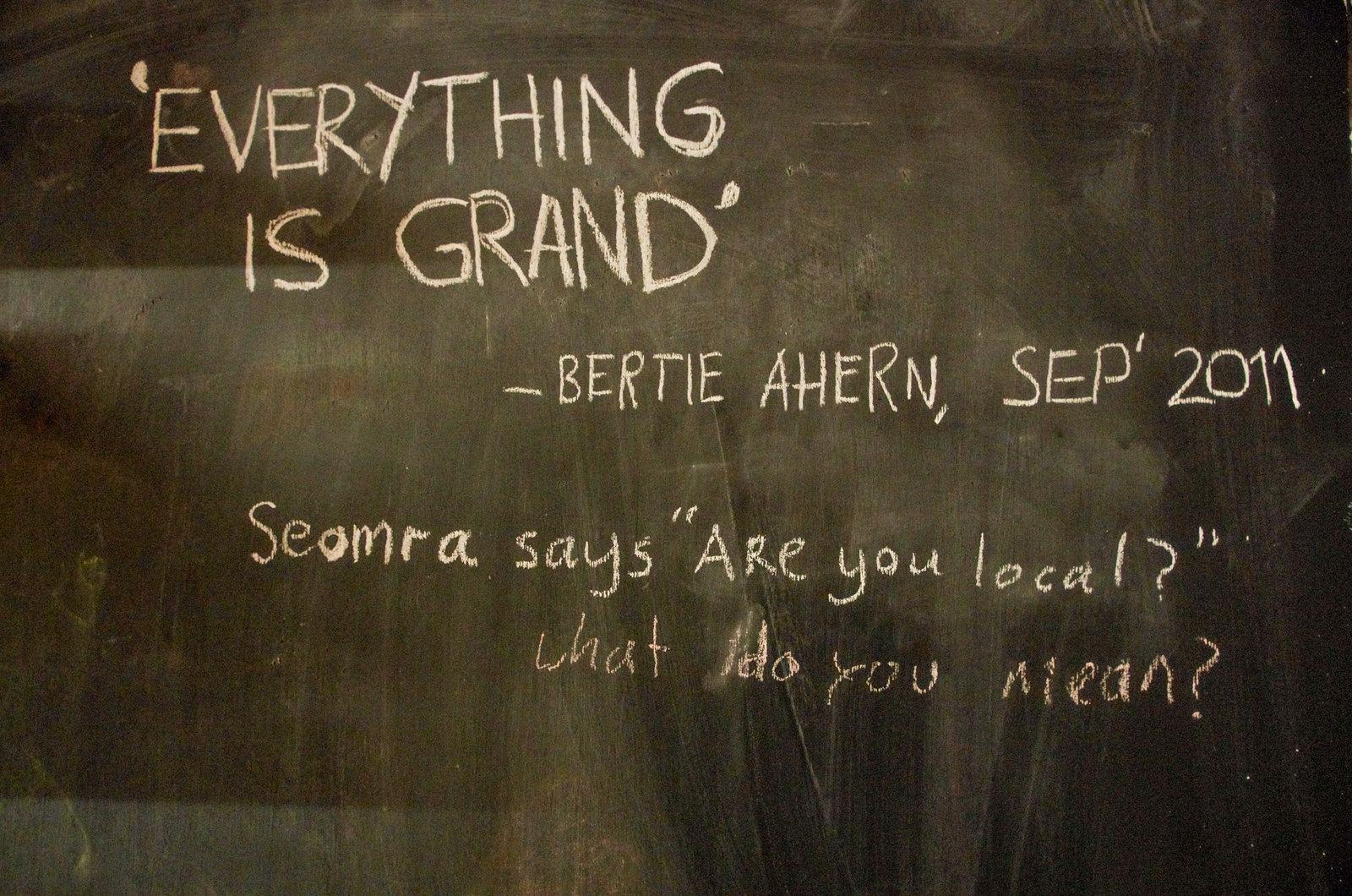 Dublin alternatif - Seomra Spraoi -Everything is grand